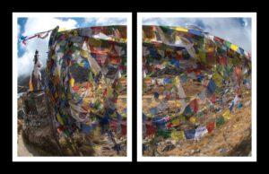 Annapurna Prayers Diptych - Gerrit Bradley