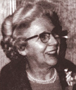 Mrs. Johnson, Founder of the Civic Center