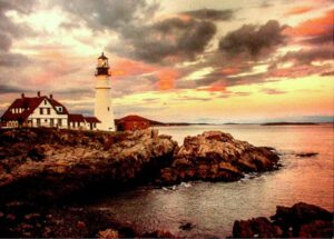 Portland Head Lighthouse - Charles Mathis